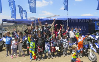 Concurrido Yamaha Kids Experience con PW50 y Raptor90