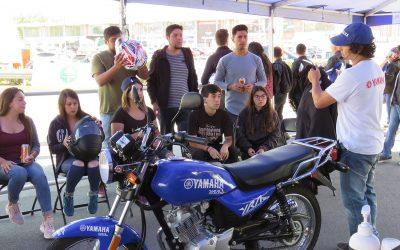 Concurrida clase de conducción Yamaha